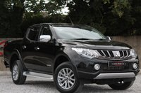 USED 2017 17 MITSUBISHI L200 2.4 DI-D 4WD WARRIOR DCB 1d 178 BHP PLUS VAT