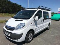 2014 VAUXHALL VIVARO 2900 2.0 CDTi SPORTIVE 6-SEATER DOUBLE CAB 115 SWB £SOLD