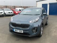USED 2017 17 KIA SPORTAGE 1.7 CRDI 1 ISG 5d 114 BHP BALANCE OF MANUFACTURERS SEVEN YEAR WARRANTY