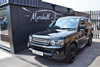USED 2013 13 LAND ROVER RANGE ROVER SPORT 3.0 SDV6 HSE BLACK 5d AUTO 255 BHP HSE BLACK - 6 STAMPS TO 102K - LEATHER - NAV - PRIVACY - LUX ALLOYS - KEYLESS ENTRY - SUNROOF