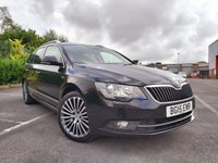 2015 SKODA SUPERB 2.0 TDI LAURIN AND KLEMENT CR 5d ESTATE £8500.00
