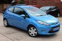 USED 2011 11 FORD FIESTA 1.2 EDGE 3d 81 BHP **** FULL SERVICE HISTORY ****