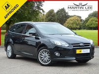 USED 2012 12 FORD FOCUS 1.6 ZETEC 5d 124 BHP SHOWROOM CONDITION ESTATE WITH FULL SERVICE HISTORY