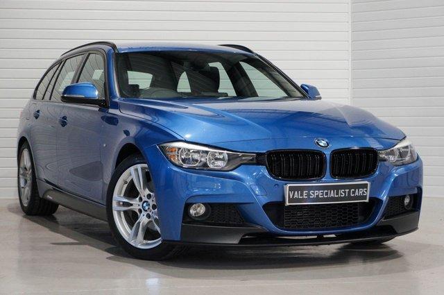 2015 15 BMW 3 SERIES 2.0 320D M SPORT TOURING AUTO (SAT NAV)