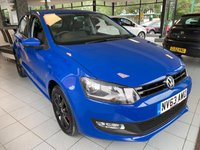 2013 VOLKSWAGEN POLO 1.4 MATCH EDITION 5d 83 BHP £6495.00