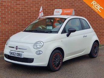 2012 FIAT 500 1.2 POP 3d  £3995.00