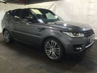 """USED 2016 16 LAND ROVER RANGE ROVER SPORT 3.0 SDV6 HSE DYNAMIC 5d AUTO 306 BHP ONE OWNER WITH SERVICE HISTORY, SAT NAV, LEATHER SEATS, 21"""" ALLOYS"""