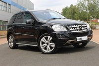USED 2011 61 MERCEDES-BENZ M CLASS 3.0 ML350 CDI BLUEEFFICIENCY SPORT 5d AUTO 231 BHP
