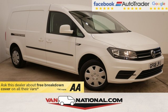 USED 2018 68 VOLKSWAGEN CADDY MAXI 2.0 C20 TDI TRENDLINE 102 BHP (One owner Air Con New Ply) * ULEZ COMPLIANT * AIR CON * CRUISE * DAB * BLUETOOTH *