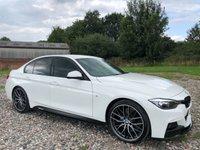 2015 BMW 3 SERIES 3.0 330D M SPORT 4d AUTO 255 BHP £19695.00