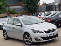 2015 PEUGEOT 308 1.2 PURETECH S/S ALLURE 5d AUTO 130 BHP £7777.00