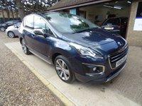 2015 PEUGEOT 3008 1.6 BLUE HDI S/S ALLURE 5d 120 BHP £8495.00