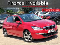 USED 2014 63 PEUGEOT 308 1.6 E-HDI ACTIVE 5d 114 BHP 5 DEALER SERVICE STAMPS