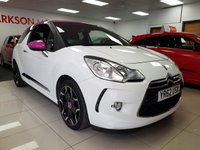 USED 2012 62 CITROEN DS3 1.6 E-HDI DSTYLE PLUS+LIMITED EDITION PINK ROOF MIRRORS+SERVICE HISTORY+LOW INSURANCE+