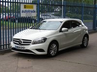 USED 2014 14 MERCEDES-BENZ A CLASS 1.6 A180 BLUEEFFICIENCY SE 5dr Sat nav prep Low Miles,Alloys,Air Conditioning and service history