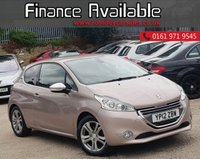 USED 2012 12 PEUGEOT 208 1.4 ALLURE 3d 95 BHP LOW MILEAGE+1 FORMER KEEPER+SAT NAV