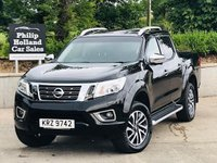USED 2016 NISSAN NP300 NAVARA 2.3 DCI TEKNA 4X4 SHR DCB 1d AUTO 190 BHP Immaculate condition D-Cab with great spec