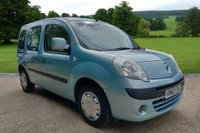 2011 RENAULT KANGOO 1.6 AUTO CAMPERVAN MOTOR CAMPER, 5 SEATS, 2 BERTH £6995.00