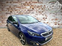 USED 2016 16 PEUGEOT 308 1.6 BLUE HDI S/S SW GT LINE 5d AUTO 120 BHP **LOW MILEAGE, 1 OWNER, FANTASTIC COLOUR AND SPEC**