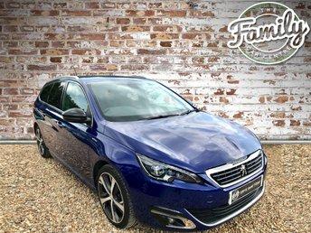 2016 PEUGEOT 308 1.6 BLUE HDI S/S SW GT LINE 5d AUTO 120 BHP £12495.00
