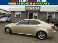 USED 2006 06 LEXUS IS 250 IS 2.5 250 SE-L 4DR SALOON AUTOMATIC 204 BHP
