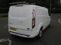 USED 2019 FORD TRANSIT CUSTOM LWB 310 LIMITED E-TECH L2H1 VAN - NO VAT 66000 miles, Full Service History, Air Con, Power Inverter