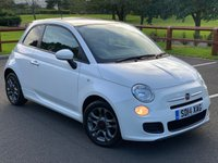 2014 FIAT 500 1.2 S 3d 69 BHP £4599.00