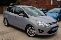 USED 2011 61 FORD C-MAX 1.6 TITANIUM 5d 123 BHP **** BLUETOOTH * FRONT AND REAR PARKING SENSORS * AIR CON * CRUISE CONTROL ****
