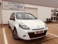 USED 2012 RENAULT CLIO 1.5 dci DYNAMIQUE TOMTOM