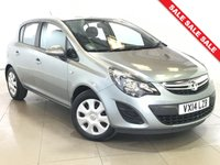 USED 2014 14 VAUXHALL CORSA 1.4 DESIGN AC 5d AUTO 98 BHP BLUETOOTH | AIR CONDITIONING |