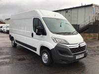 USED 2014 64 CITROEN RELAY 2.2 35 L3H2 HDI 130 BHP