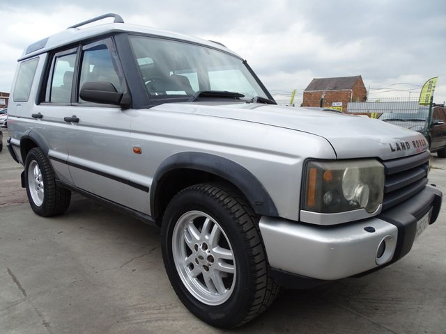 USED 2002 52 LAND ROVER DISCOVERY 2.5 TD5 S 5d 7 SEATER VERY CLEAN