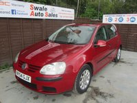 USED 2005 54 VOLKSWAGEN GOLF 1.6 SE 3d AUTO 114 BHP FINANCE AVAILABLE FROM £28 PER WEEK OVER TWO YEARS - SEE FINANCE LINK FOR DETAILS