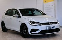 USED 2018 18 VOLKSWAGEN GOLF 2.0 R TSI DSG 5d AUTO 306 BHP SAT NAV, HEATED SEATS, ADAPTIVE CRUISE CONTROL, DYNAMIC CHASSIS CONTROL, REAR CAMERA, PARKING AID FRONT AND REAR, VIRTUAL DISPLAY