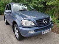 2004 MERCEDES M-CLASS 2.7L ML270 CDI 5d AUTO 163 BHP £2250.00