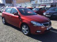 2012 KIA CEED 1.6 2 5d AUTO 124 BHP £5300.00