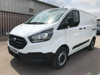 USED 2018 18 FORD TRANSIT CUSTOM 300 105PS L1 SWB **NEWSHAPE**AIRCON PACK**