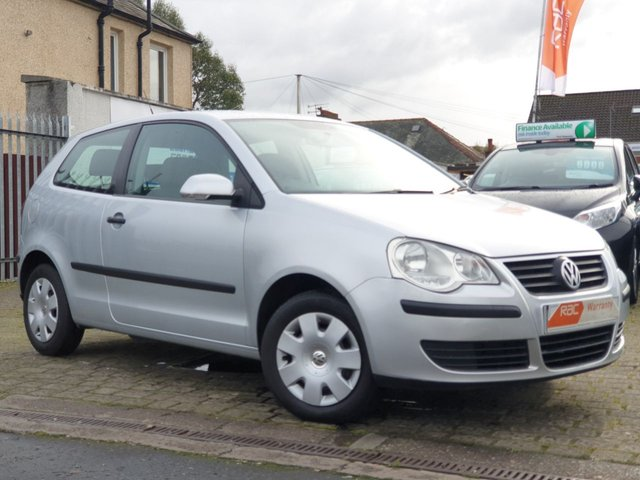 USED 2007 07 VOLKSWAGEN POLO 1.2 E 3d 63 BHP ALL CARS SUPPLIED FROM EDINBURGH CAR STORE COME WITH 6 MONTH RAC WARRANTY 1 YEAR MOT 1 YEAR BREAKDOWN SERVICE AND AN OIL AND FILTER SERVICE PRIOR TO COLLECTION  FOR MORE  INFORMATION AND TO ARRANGE YOUR TEST DRIVE CALL US NOW ON 01314534363