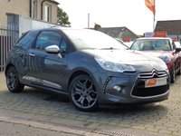 USED 2013 13 CITROEN DS3 1.6 E-HDI AIRDREAM DSPORT PLUS 3d 111 BHP AS ALWAYS ALL CARS FROM EDINBURGH CAR STORE COME WITH 1 YEARS FULL MOT ,1 FULL RAC INSPECTION SERVICE AND 6 MONTH RAC WARRANTY INCLUDING  12 MONTHS RAC BREAKDOWN RECOVERY FREE OF CHARGE!      PLEASE CALL IF YOU DONT SEE WHAT YOUR LOOKING FOR AND WE WILL CHECK OUR OTHER BRANCHES.  WE HAVE  OVER 100 CARS IN DEALER STOCK