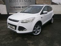 USED 2013 62 FORD KUGA 2.0 TITANIUM TDCI 5dr HIGH SPEC WITH OVER 1K OF EXTRAS