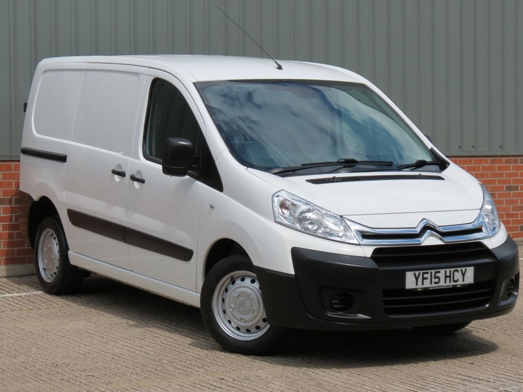 USED 2015 15 CITROEN DISPATCH 2.0 1200 L1H1 HDI 1d 126 BHP EXCELLENT CONDITION AND FANTASTIC VALUE