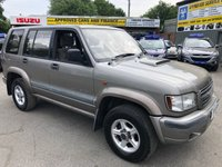 2001 ISUZU TROOPER 3.0 LWB DT DUTY 5d 157 BHP IN METALLIC SILVER WITH 114,000 MILES (TRADE CLEARANCE) £1750.00