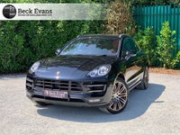 USED 2016 D PORSCHE MACAN 3.6 TURBO PDK 5d AUTO 400 BHP PANORAMIC SUNROOF
