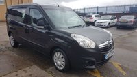 USED 2014 63 VAUXHALL COMBO 1.6 2300 L2H1 CDTI S/S 1d 105 BHP 5 SEATER CREW VAN 1 OWNER VERY LOW MILES ONLY 10K F/S/H 2 KEYS