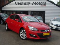 2012 VAUXHALL ASTRA 1.4 ACTIVE 5d + LEATHER £4490.00
