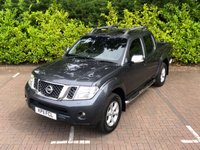 USED 2011 11 NISSAN NAVARA 2.5 DCI // TEKNA // 4X4 // DCB // 188 BHP // px swap CRACKING WORK HORSE WITH GREAT HISTORY and a NEW MOT