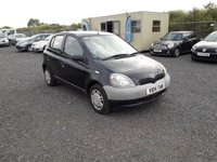 USED 2014 V TOYOTA YARIS 1.0 1d