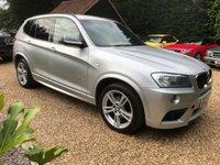 2013 BMW X3 2.0 XDRIVE20D M SPORT AUTO,.BLUETOOTH, FSH £10995.00