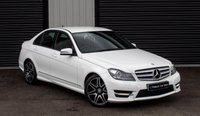 USED 2012 62 MERCEDES-BENZ C CLASS C CLASS AMG SPORT PLUS AUTO, LOW MILEAGE, HALF LEATHER, PARKING SENSORS,BLUETOOTH & MORE