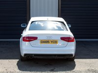 USED 2015 65 AUDI A4 S Line 177BHP 2.0TDi, Full Valcona Heated Leather,Sat Nav,Pearl White, Privacy Glass, Parking Sensors High Spec, Excellent Condition, Must be viewed